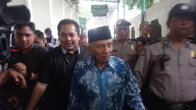 Amien Rais to Undergo Police Question Today for Eggi Sudjana Case