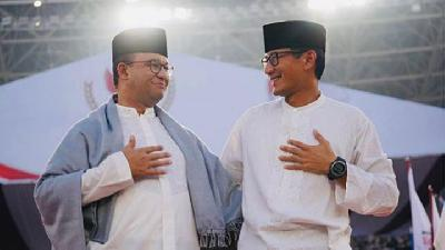 Sapa Sandiaga Uno, Anies Baswedan: Welcome Back, Bro
