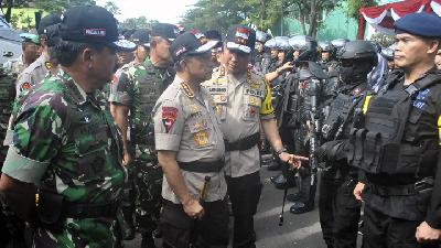 Police Chief Asks People Not to Mobilize Mass