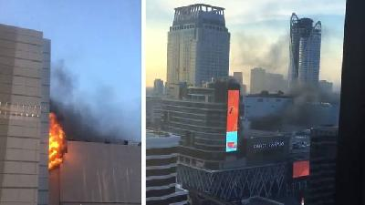 Fire at Bangkok Shopping Mall Kills at Least Two, Injures 16