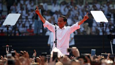 Jokowi Camp Thank Indonesians as KPU Declares Election Winner