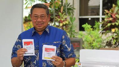 SBY Calls for Calm as Tension Surges after Elections