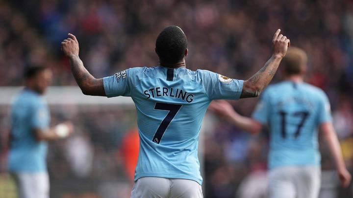 Sterling Double Helps Manchester City Beat Palace and Top Table