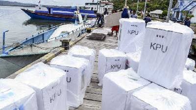 Indonesia Elections Logistics Preparation at 99 Percent, Says KPU