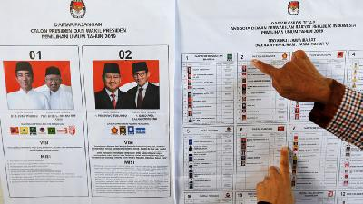 In World's Biggest One-Day Election,Indonesia Votes for President