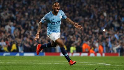 Sterling Bags Hat-trick as Manchester City Thump Atalanta
