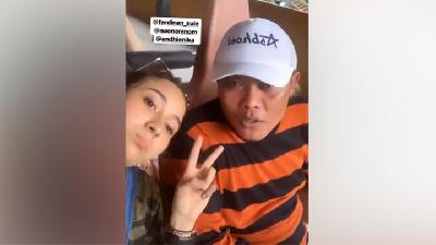 Sule dan Naomi Zaskia Unggah Video Jalan-jalan di Jungle Park