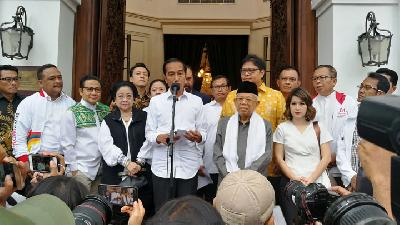 Incumbent Jokowi Declares Victory in Presidential Election