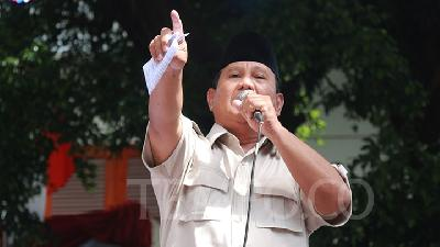 IPI: Prabowo Camp's Internal Vote Count Biased