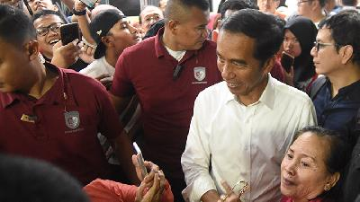 Jokowi-Ma'ruf Amin still Excel Based on KPU`s Count