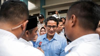 Sandiaga Uno Looks Forward to Meeting Ma'ruf Amin
