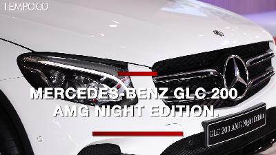 IIMS 2019: Mercedes-Benz GLC AMG Night Edition Curi Perhatian