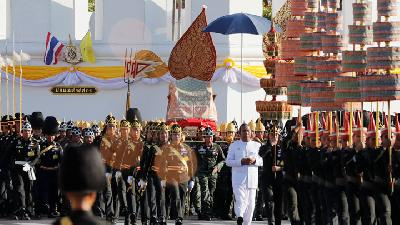 Royal Instruments for Thai King's Coronation