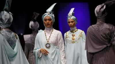 Images of 2019 Muslim Fashion Festival Indonesia (MUFFEST)