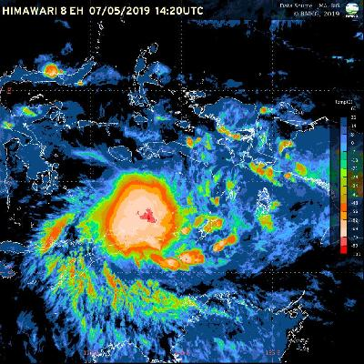 BMKG Warns of Tropical Cyclone Claudia in East Nusa Tenggara