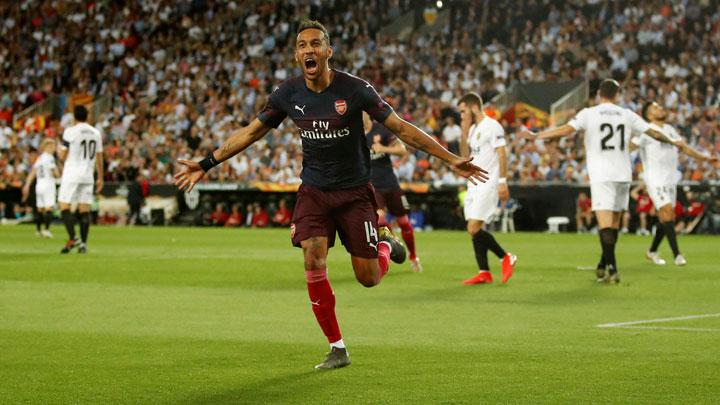 Aubameyang Treble Sends Arsenal into Europa League Final