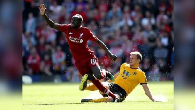 Liverpool Vs Man City: Sadio Mane Sindir Pep Guardiola.html