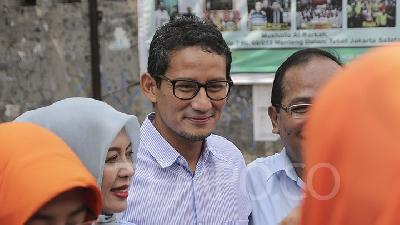 Sandiaga Uno Says He will Not Return as Jakarta Deputy Governor