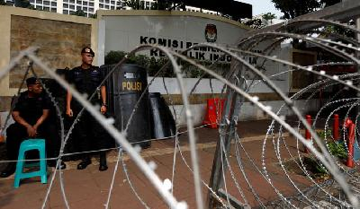 KPU Tightens Security Ahead of Presidential Race Result