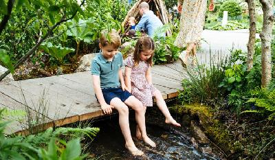 Duchess Kate Lets Royal Children Loose at Her Chelsea Flower Show