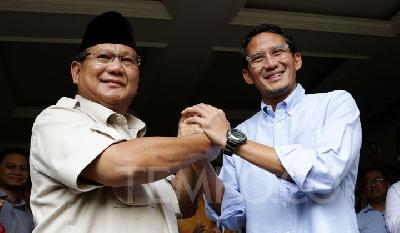 Jusuf Kall Calls for Prabowo, Sandiaga to Help Cool the Situation