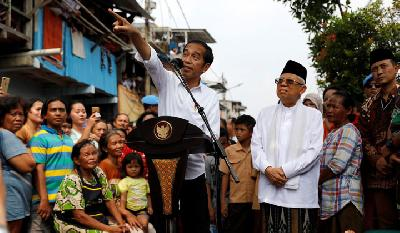 Jokowi Declared Wins Second Term As President