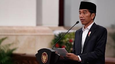 Jokowi Will Not Tolerate Security Disruptions in Indonesia