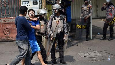 May 22 Riot; Police Arrest 101 Provocateurs