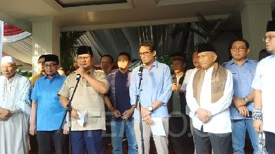 Gerindra Confirms Prabowo Has No Plan Yet to Meet Jokowi