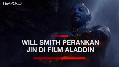 Will Smith Sempat Tak Pede Perankan Jin di Film Aladdin