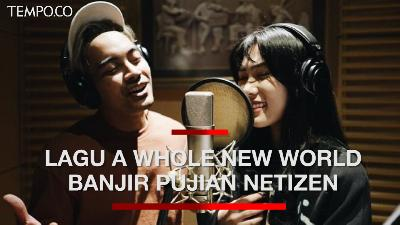 Pujian Bagi Isyana-Gamaliel Nyanyikan 'A Whole New World' Aladdin