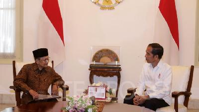 Habibie, Jokowi Discuss Indonesia's Future