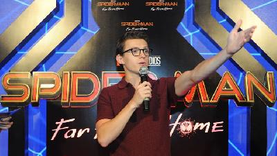 Tom Holland Bicara Nasib Spiderman Usai Kisruh Disney dengan Sony