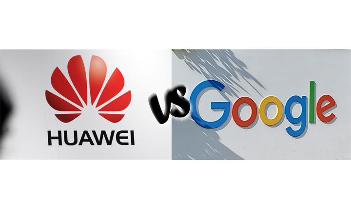 Huawei Vs Google. REUTERS/Dave Paresh/Philippe Wojazer