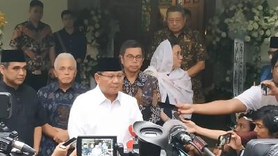 MK Rejects Prabowo Camp's Request for Witness Protection