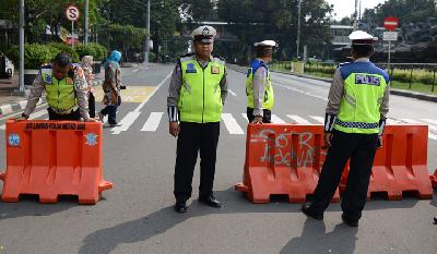Election Trial; Police Apply Traffic Engineering as of Tonight