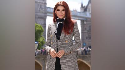 Zendaya Ubah Warna Rambut saat Promo Spider-Man: Far From Home
