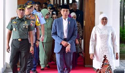 President Jokowi's Agenda in Today's East Java Visit