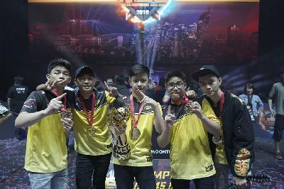 ONIC Esports Juara Mobile Legends Bang Bang South East Asia Cup
