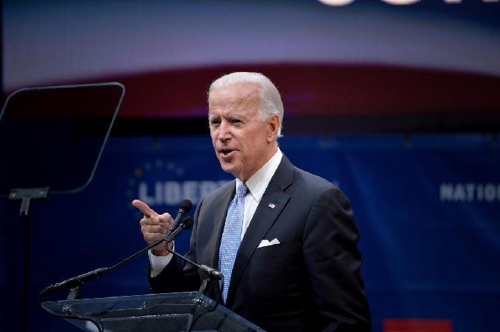 Mantan Wakil Presiden AS Joe Biden.[REUTERS]