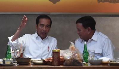 Prabowo-Jokowi Talks Doesn't Cover Ministerial Post: Gerindra