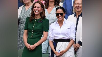 Adu Gaya Kate Middleton dan Meghan Markle di Final Wimbledon