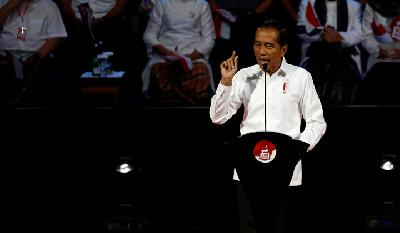 Jokowi Pledges More Infrastructure, Investment in Second Term