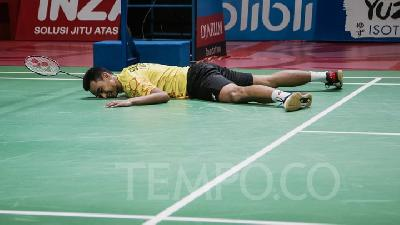 Indonesia Open: Tommy Sugiarto Gugur di Tangan Chen Long