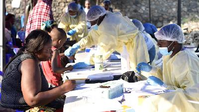 Ebola Vaccine to be Stockpiled for Emergency Use