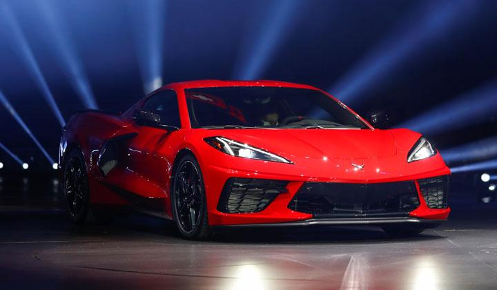 Chevrolet Unveils New Mid Engine C8 Corvette