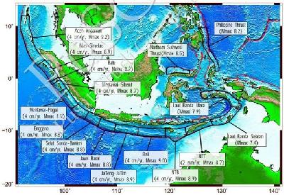 Bengkulu Megathrust Zone Needs Close Monitoring, Says BMKG