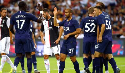 Tottenham Hotspur Sink Juventus in International Champions Cup