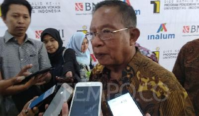 New Credit Policy: Minister Darmin Unconcerned with Higher NPL