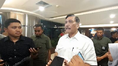 Minister Luhut Announces U.S. - Indonesia Bilateral Partnership